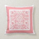 Choose The Colour, Bordered Floral Pattern Pillow
