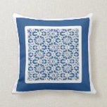 Choose The Colour, Bordered Lace Pattern Pillow