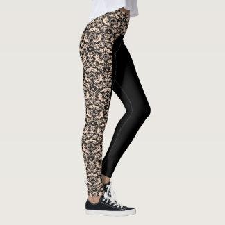 """Choose the Colour """"Regal Lace"""" Design Leggings"""