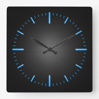 Choose The Colour RGBY Mesh Effect Wall Clock