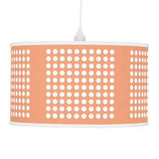 Choose The Colour, White Polka Dot Pendant Lamp