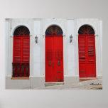 Choose the red door poster