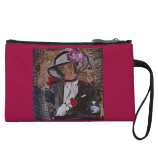 Choose this colorful wristlet for a Christmas gift