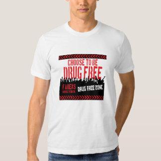 Choose to Be Drug Free Tee Shirt