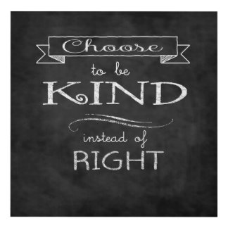 Choose To Be Kind Panel Wall Art