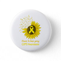 Choose To Keep Going COPD Awareness Button