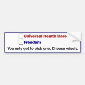 Choose Wisely Bumper Sticker