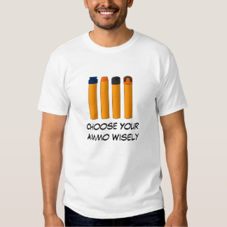 Choose Your Ammo Wisely Dresses