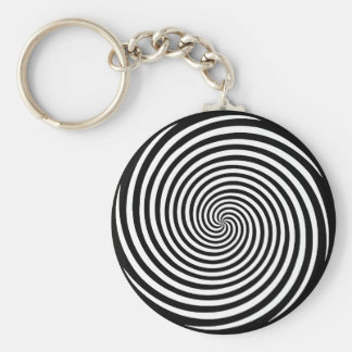 Choose your Background Color Key Chain Spiral