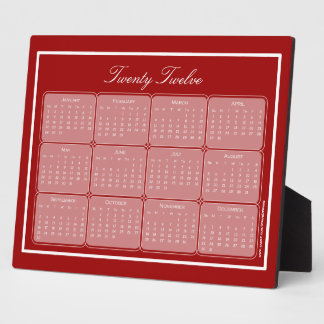 Choose Your Color 2012 Basic Plaque