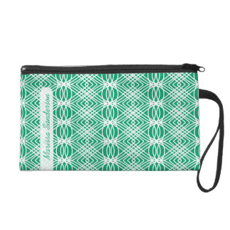 Choose Your Color Angelina Personalized Wristlet
