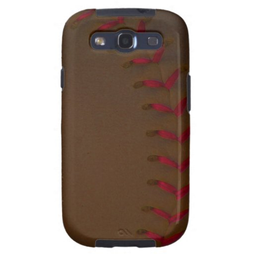 Choose Your Color Baseball - Softball Galaxy SIII Cases