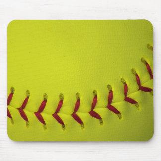 Choose Your Color Baseball - Softball Mousepad