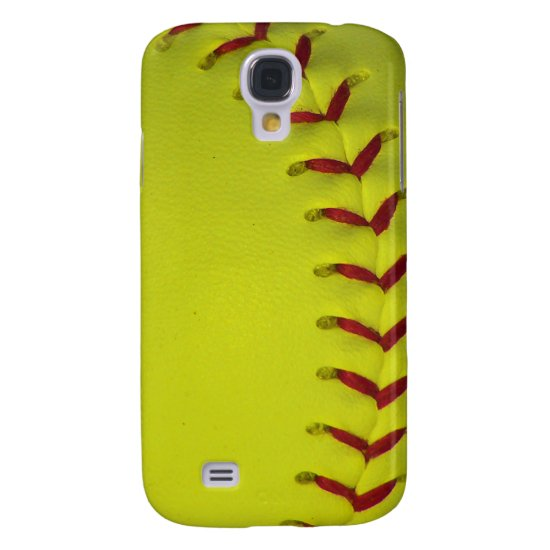 Choose Your Color Baseball - Softball Samsung Galaxy S4 Case