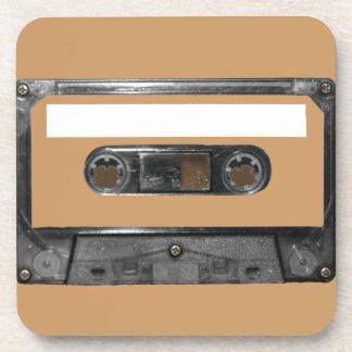 Choose Your Color Cassette Beverage Coaster