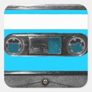 Choose Your Color Cassette Square Sticker