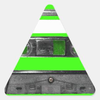 Choose Your Color Cassette Triangle Sticker