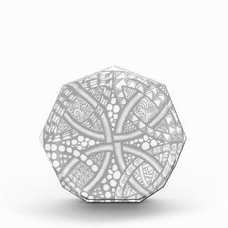 Choose Your Color Celtic Knot Decorative Pattern Award