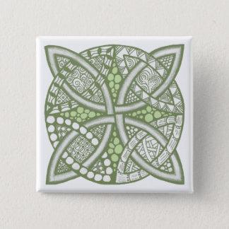 Choose Your Color Celtic Knot Decorative Pattern Button