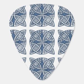 Choose Your Color Celtic Knot Decorative Pattern Guitar Pick