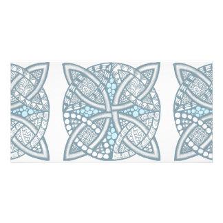 Choose Your Color Celtic Knot Decorative Pattern Photo Card
