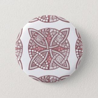 Choose Your Color Celtic Knot Decorative Pattern Pinback Button