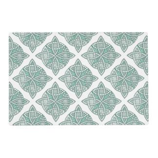 Choose Your Color Celtic Knot Decorative Pattern Placemat