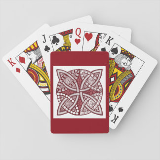 Choose Your Color Celtic Knot Decorative Pattern Playing Cards