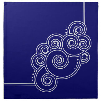 Choose Your Color Charming Swirls Fabric Napkins