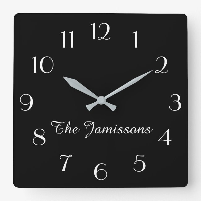 CHOOSE YOUR COLOR, Clock, Personalized