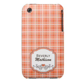 Choose Your Color Cozy Plaid iPhone 3G/3GS Case iPhone 3 Covers