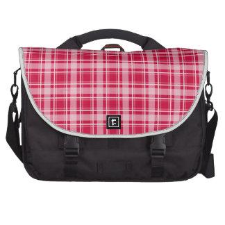 Choose Your Color Cozy Plaid Laptop Bag