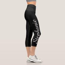 CHOOSE YOUR COLOR custom yoga capri leggings