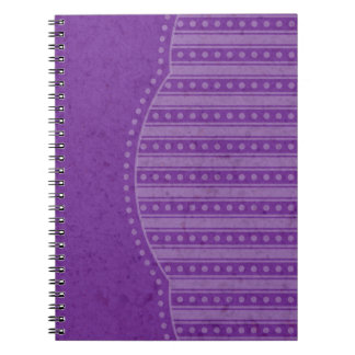 Choose Your Color Dainty Stripes Notebook