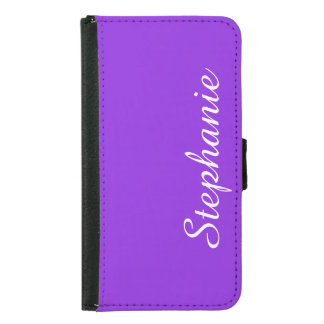 CHOOSE YOUR COLOR Galaxy S5 Wallet Case Customized
