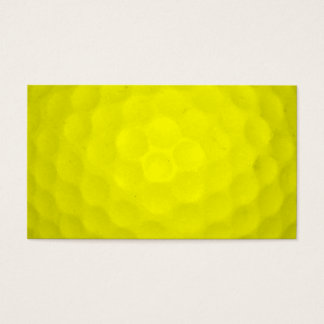 Choose Your Color Golf Ball Business Card