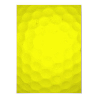 Choose Your Color Golf Ball Card