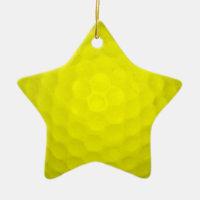 Choose Your Color Golf Ball Ceramic Ornament