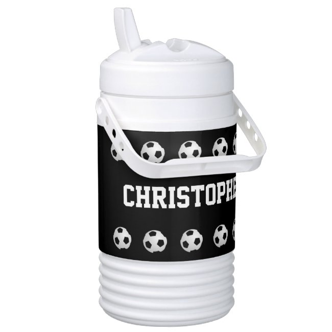 CHOOSE YOUR COLOR Igloo Beverage Cooler Soccer