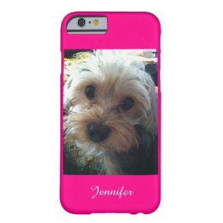 CHOOSE YOUR COLOR iPhone 6 Case Yorkie