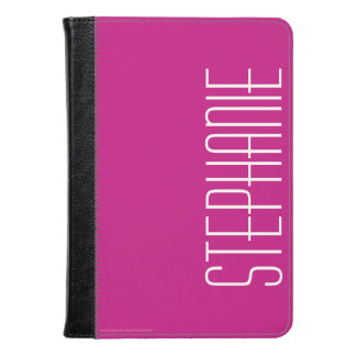 CHOOSE YOUR COLOR Personalized Folio Cover