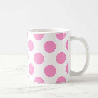 Choose Your Color Polka Dots On White Coffee Mug