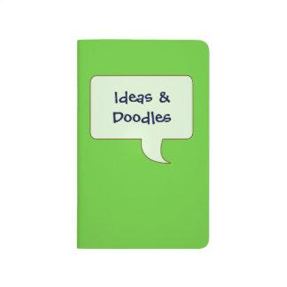 Choose Your Color Speech Bubble Pocket Journal