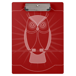 Choose Your Color Wise Old Owl Clipboard