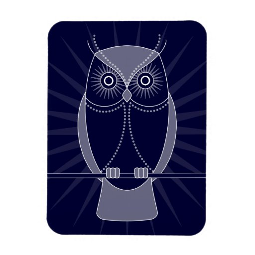 Choose Your Color Wise Old Owl Magnet