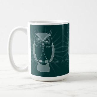 Choose Your Color Wise Old Owl Mug