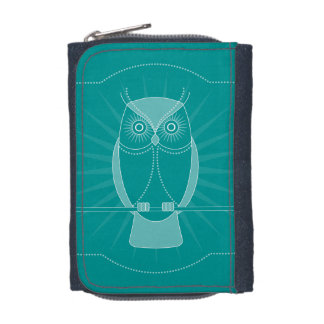 Choose Your Color Wise Old Owl Wallet