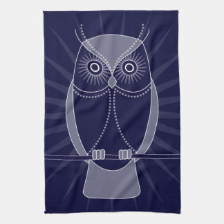 Choose Your Color Wise Old Owls Kitchen Towel