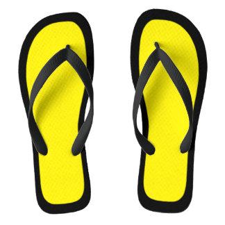 Choose Your Colour Black Trim Flip Flops