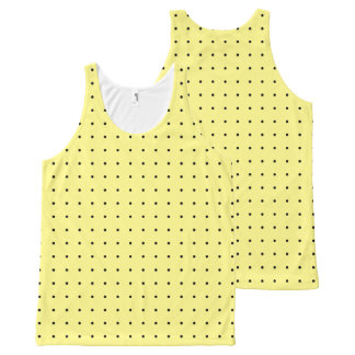 Choose Your Colour Small Polka Dot Pattern Top All-Over Print Tank Top